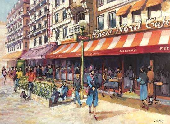 Vincent Couppey - Paris Nord Café
